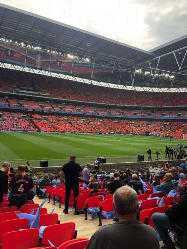 Wembley Stadium, secção: 103, fila: 16