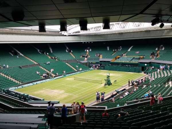 Wimbledon, Centre Court, secção: 308, fila: T, lugar: 201