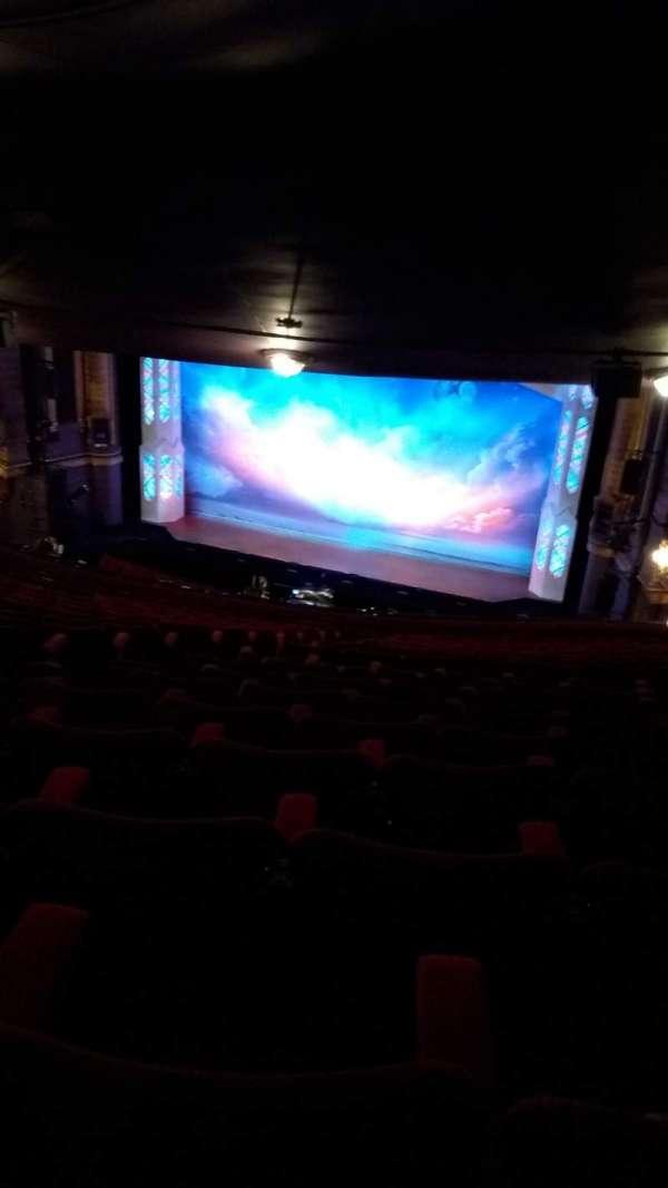 Palace Theatre (Manchester), secção: Circle, fila: R, lugar: 12