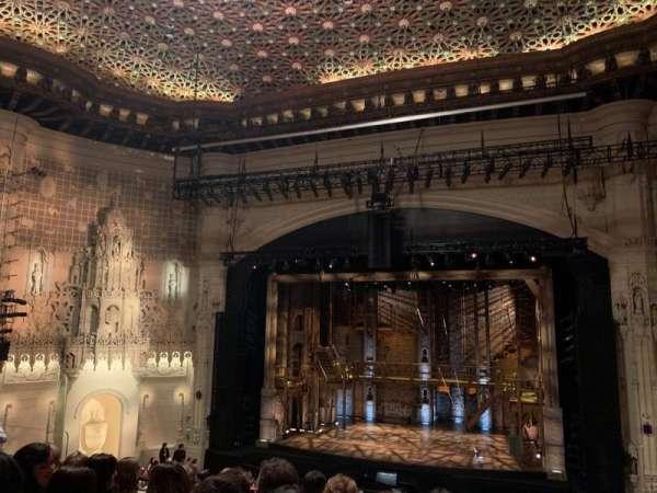 Orpheum Theatre (San Francisco), secção: Mezzanine RC, fila: F, lugar: 118