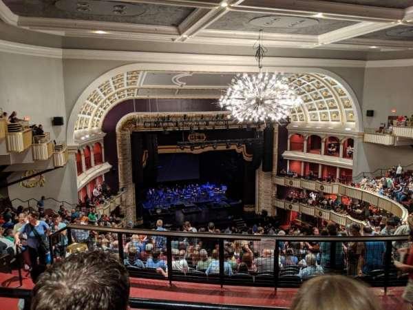 The Met Philadelphia, secção: Mezzanine 4, fila: B, lugar: 14