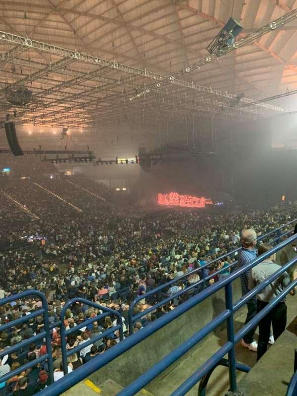 Tacoma Dome, secção: 216, fila: D, lugar: 28