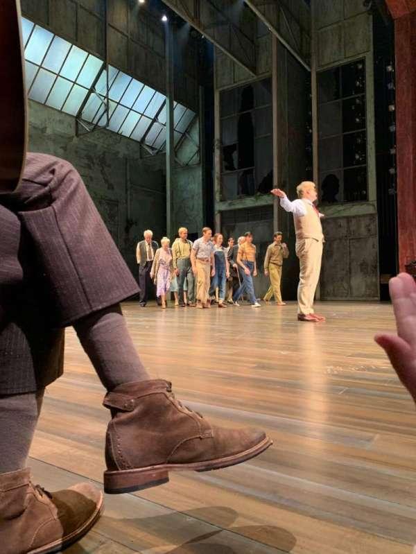 Shubert Theatre, secção: Orchestra L, fila: B , lugar: 9