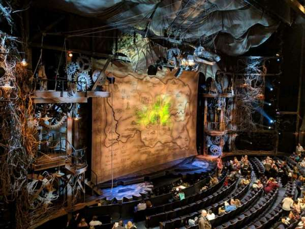 Gershwin Theatre, secção: FMEZZ, fila: BB, lugar: 1