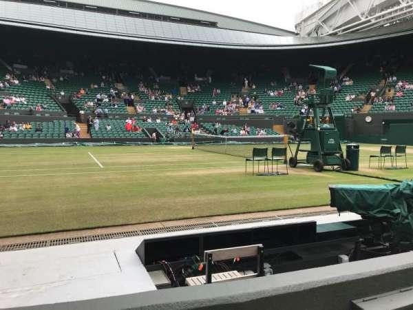 Wimbledon, Court No. 1, secção: Gangway 30, fila: B, lugar: 42
