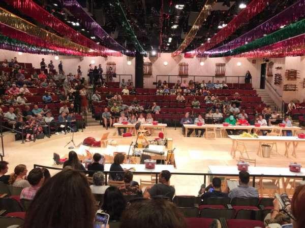 Circle in the Square Theatre, secção: Orchestra 200 (Even), fila: G, lugar: 220