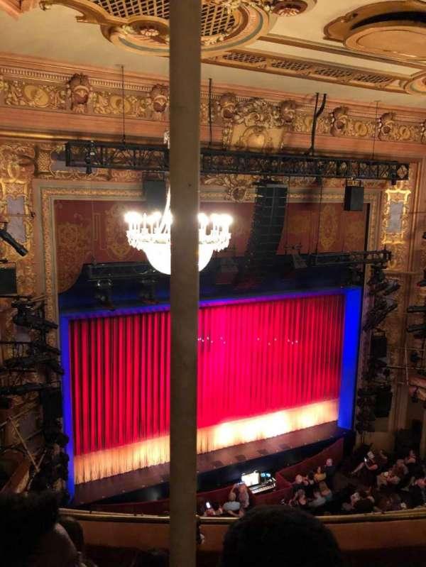 Longacre Theatre, secção: Balcony left, fila: D, lugar: 12