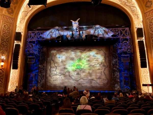 Paramount Theatre (Seattle), secção: MF2, fila: S, lugar: 2