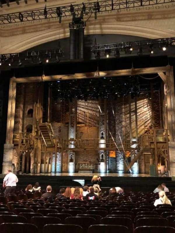 Orpheum Theatre (San Francisco), secção: Orchestra RC, fila: U, lugar: 116