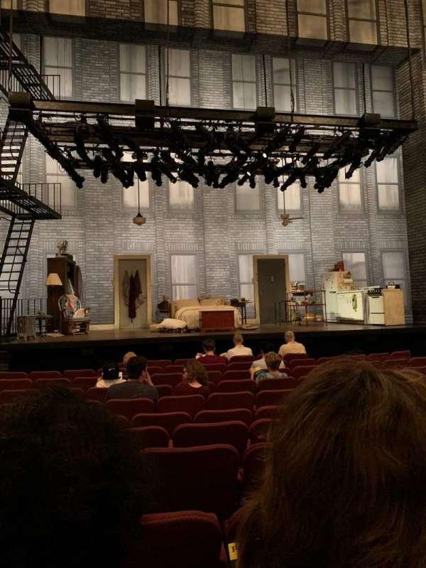Broadhurst Theatre, secção: Orchestra C, fila: K, lugar: 104