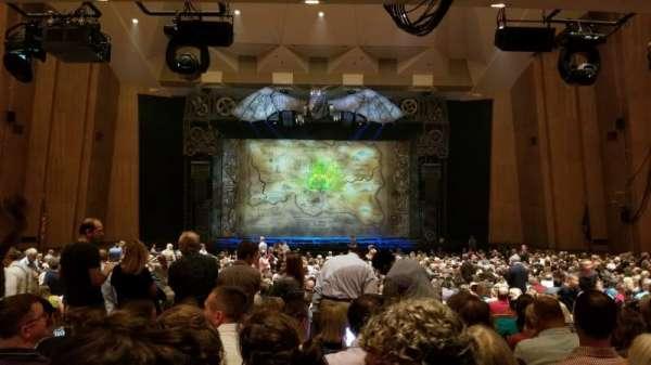 Keller Auditorium, secção: Orchestra C, fila: DD, lugar: 5