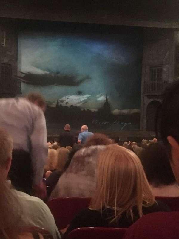 Cadillac Palace Theater, secção: Orchestra C, fila: S, lugar: 101