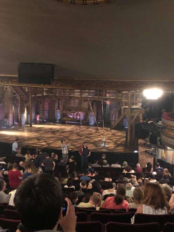 Richard Rodgers Theatre, secção: Orchestra R, fila: V, lugar: 28