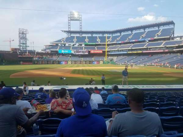 Citizens bank park , secção: 131, fila: 14, lugar: 6