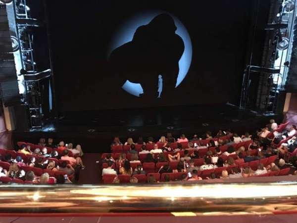 Broadway Theatre - 53rd Street, secção: Front Mezzanine LC, fila: A, lugar: 112