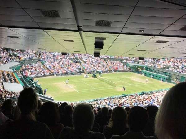 Wimbledon, Centre Court, secção: 523, fila: ZD, lugar: 432