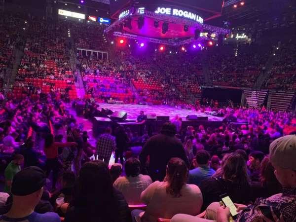 Viejas Arena, secção: E, fila: 7, lugar: 8