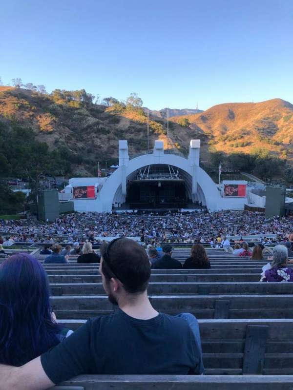 Hollywood Bowl, secção: N1, fila: 22, lugar: 26