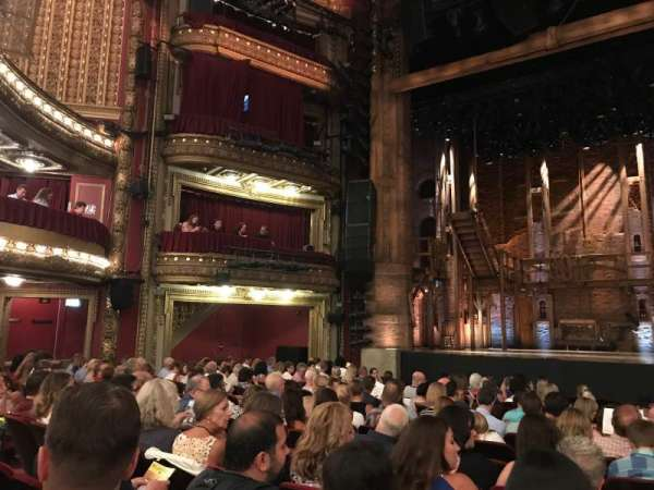 CIBC Theatre, secção: Orchestra C, fila: Q, lugar: 111