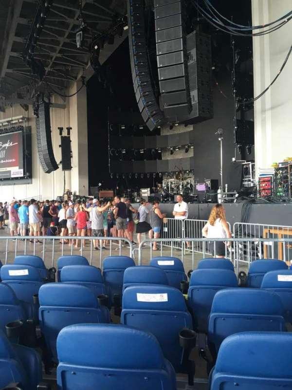 PNC Music Pavilion, secção: 1, lugar: 5
