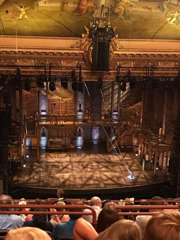 Hippodrome Theatre, secção: Balcony, fila: Q, lugar: 101