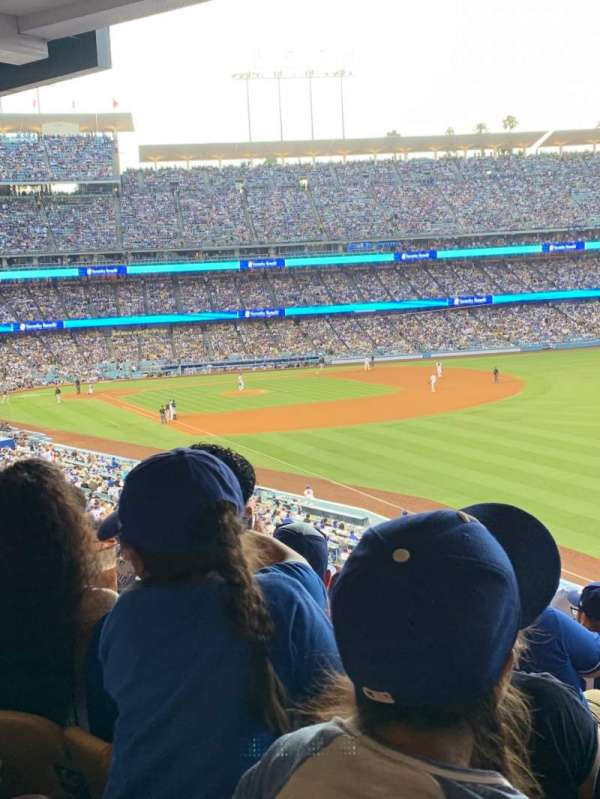 Dodger Stadium, secção: 162LG, fila: S, lugar: 11