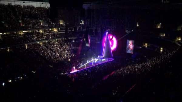 Honda Center , secção: 439, fila: Q, lugar: 6