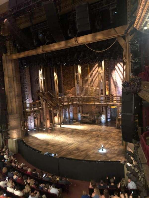 CIBC Theatre, secção: Mezzanine R, fila: A, lugar: 10