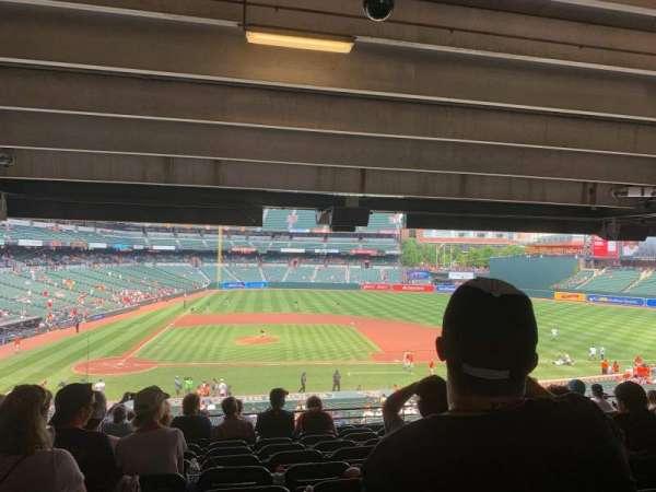 Oriole Park at Camden Yards, secção: 23, fila: 12, lugar: 17