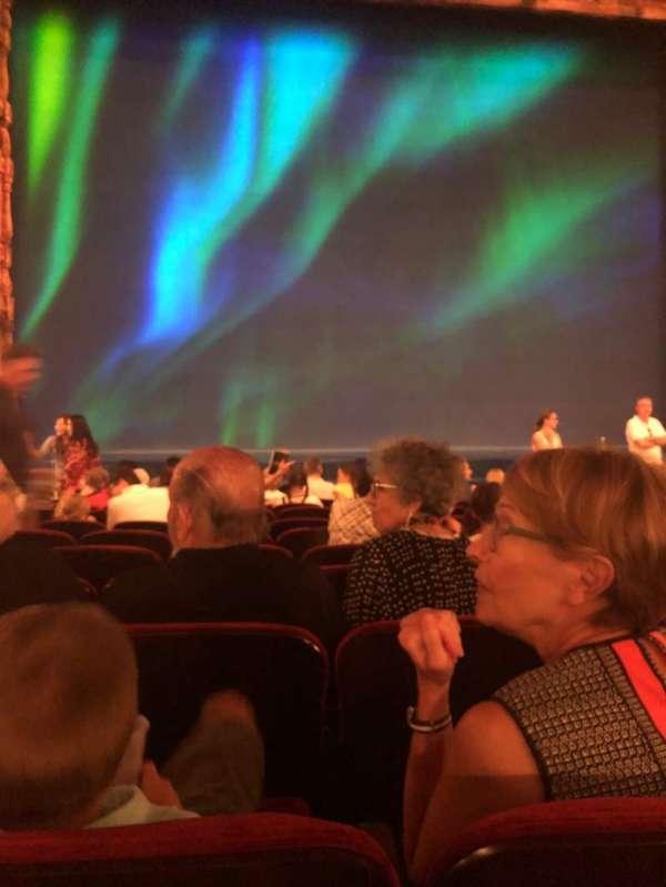 St. James Theatre, secção: Orchestra C, fila: K, lugar: 112