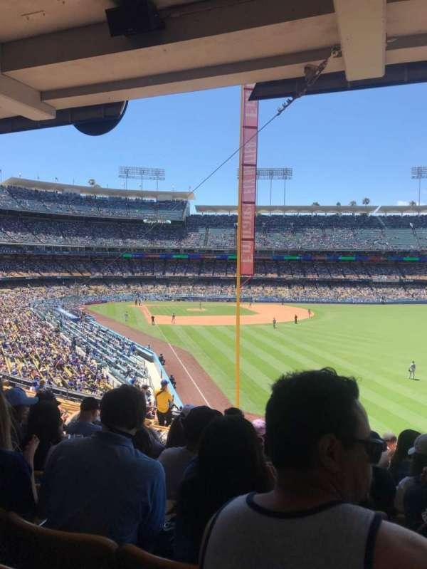 Dodger Stadium, secção: 166lg, fila: R, lugar: 15