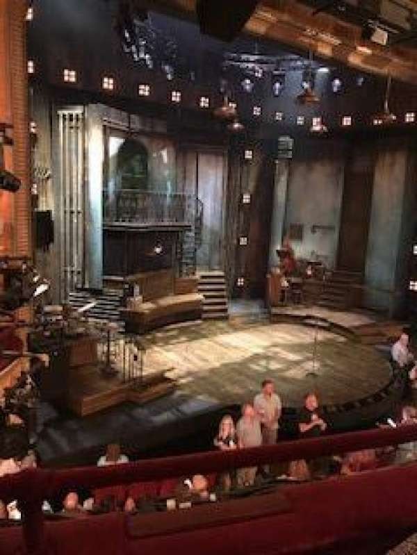 Walter Kerr Theatre, secção: Mezz, fila: B, lugar: 21