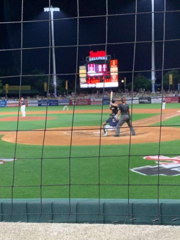 Smith's Ballpark, secção: 14, fila: 3, lugar: 9