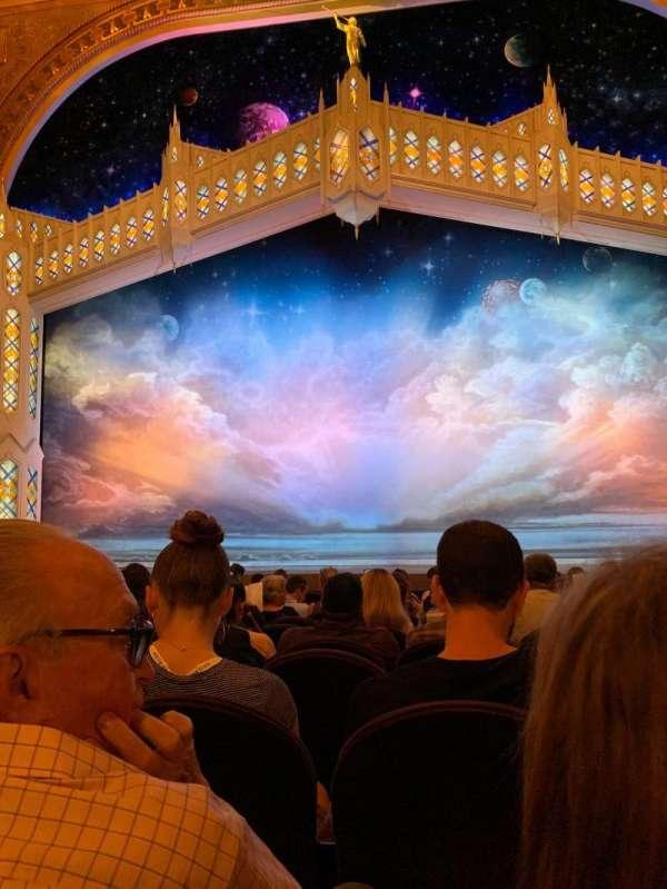 Eugene O'Neill Theatre, secção: Orchestra C, fila: L, lugar: 108