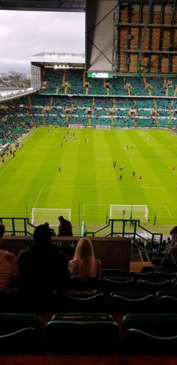 Celtic Park, secção: 417, fila: V, lugar: 10