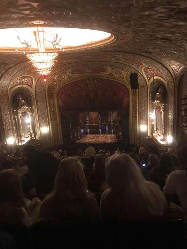 Providence Performing Arts Center, secção: RC, fila: U, lugar: 118