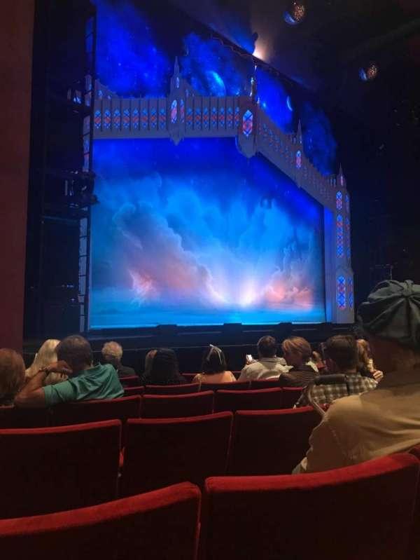 San Diego Civic Theatre, secção: ORCHLS, fila: E, lugar: 49