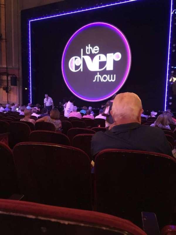 Neil Simon Theatre, secção: Orchestra R, fila: O, lugar: 8