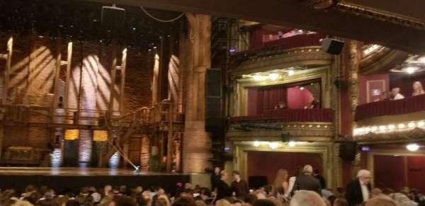 CIBC Theatre, secção: Orchestra C, fila: W, lugar: 109