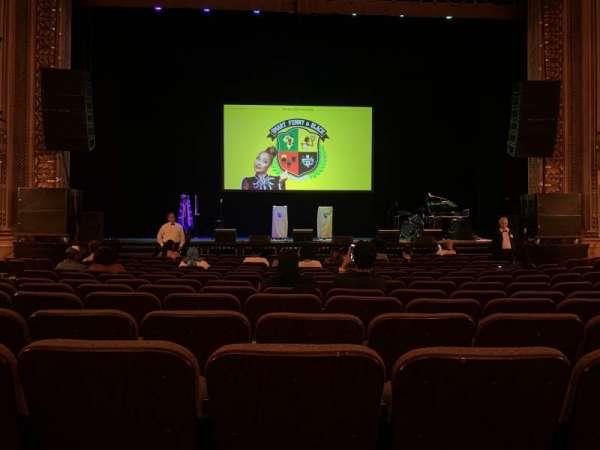 Hippodrome Theatre, secção: Orchestra Center, fila: N, lugar: 107