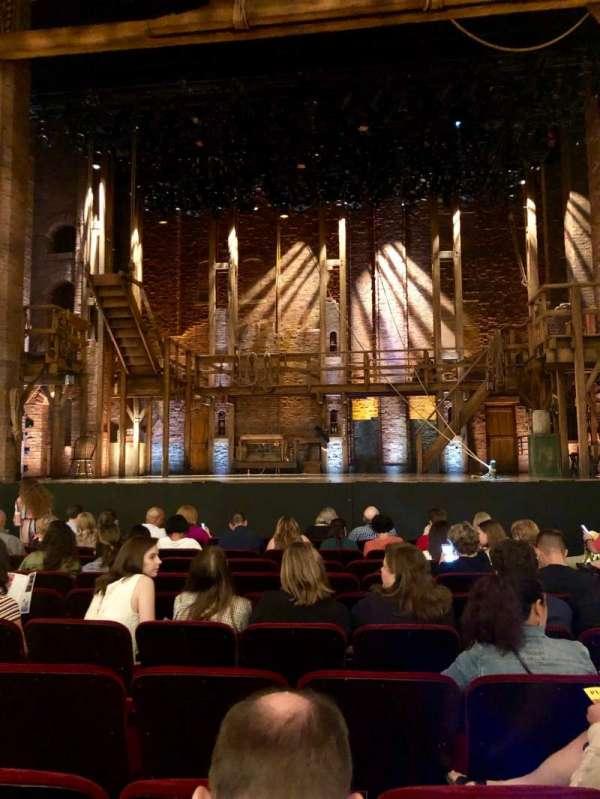 CIBC Theatre, secção: Orchestra C, fila: L, lugar: 109