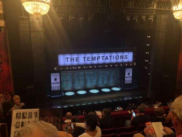 Imperial Theatre, secção: Front Mezzanine 3, fila: F, lugar: 10