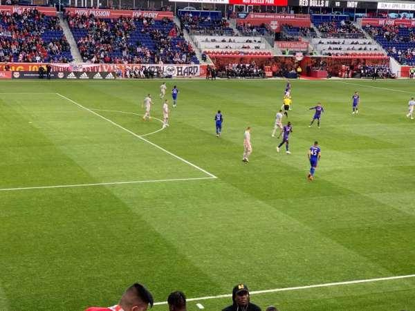 Red Bull Arena, secção: 129, fila: 14, lugar: 9