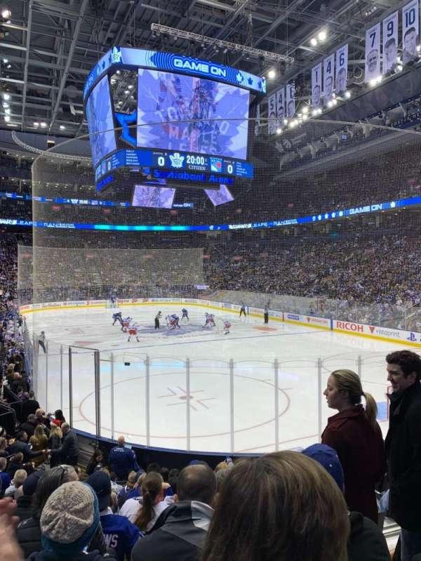 Scotiabank Arena, secção: 115, fila: 16, lugar: 5