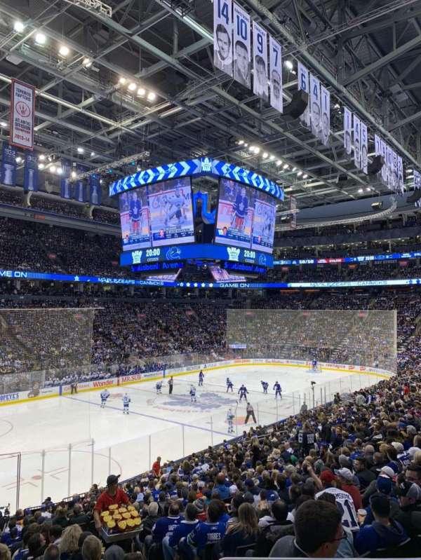 Scotiabank Arena, secção: 111, fila: 24, lugar: 2
