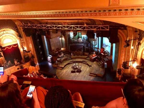 Walter Kerr Theatre, secção: Balcony, fila: B, lugar: 22