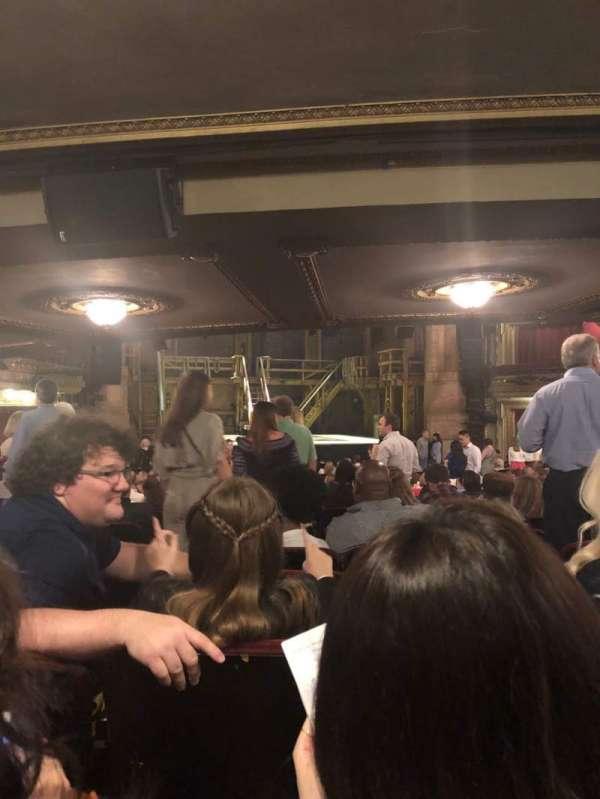 CIBC Theatre, secção: Orchestra L, fila: Z, lugar: 101