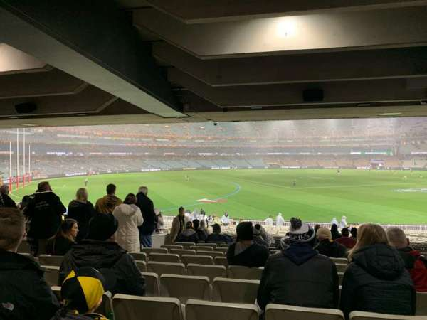 Melbourne Cricket Ground, secção: M42, fila: Kk, lugar: 11