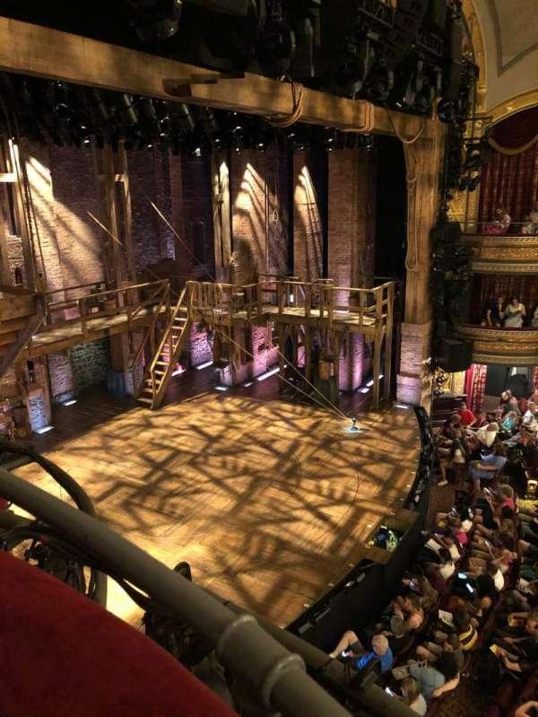 Richard Rodgers Theatre, secção: Box F, fila: 1, lugar: 1