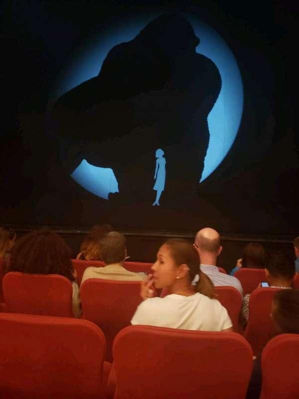 Broadway Theatre - 53rd Street, secção: Orchestra C, fila: E, lugar: 103